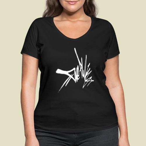 tag - Frauen Bio-T-Shirt mit V-Ausschnitt von Stanley & Stella