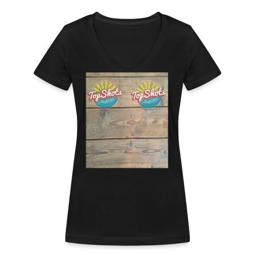 TenSlippers - Vrouwen bio T-shirt met V-hals van Stanley & Stella