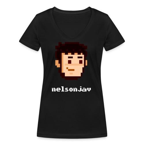 Simple Nelsonjav - Women's Organic V-Neck T-Shirt by Stanley & Stella