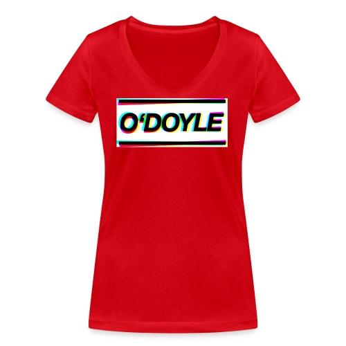 logo odoyle - Frauen Bio-T-Shirt mit V-Ausschnitt von Stanley & Stella