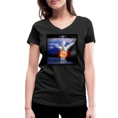 méditation 5 - T-shirt bio col V Stanley & Stella Femme