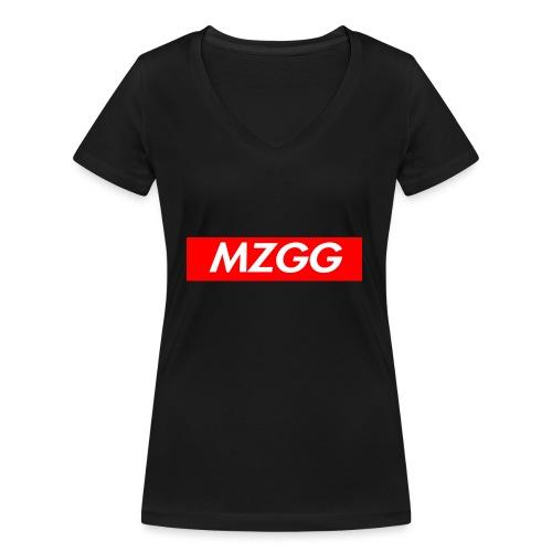 MZGG FIRST - Ekologisk T-shirt med V-ringning dam från Stanley & Stella
