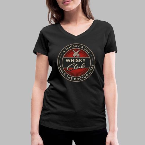 Whisky Club - Frauen Bio-T-Shirt mit V-Ausschnitt von Stanley & Stella