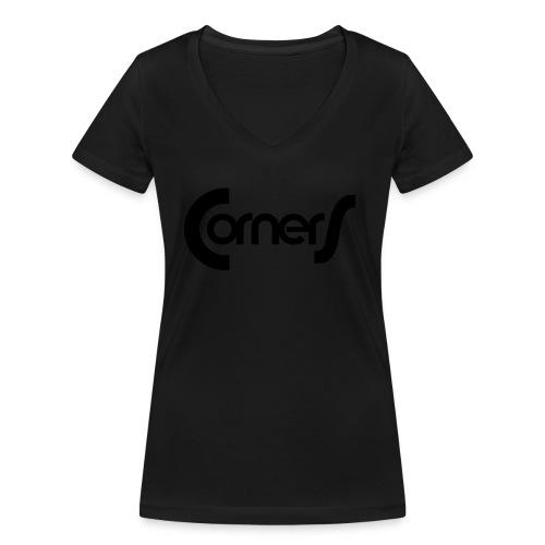 cornerlogos - Økologisk Stanley & Stella T-shirt med V-udskæring til damer