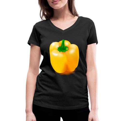paprika 158476 1280 - Frauen Bio-T-Shirt mit V-Ausschnitt von Stanley & Stella