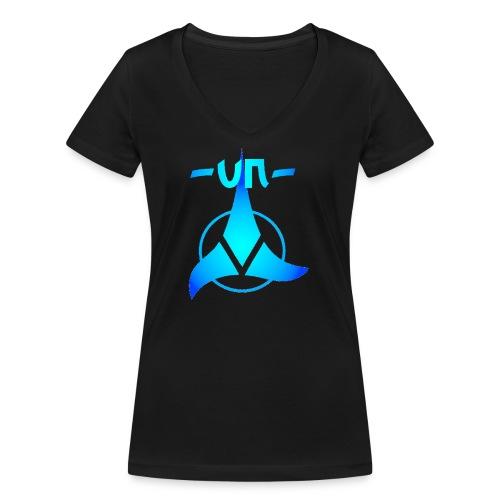 UNNICK Logo - Frauen Bio-T-Shirt mit V-Ausschnitt von Stanley & Stella