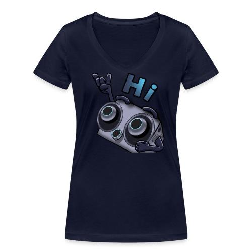The DTS51 emote1 - Vrouwen bio T-shirt met V-hals van Stanley & Stella