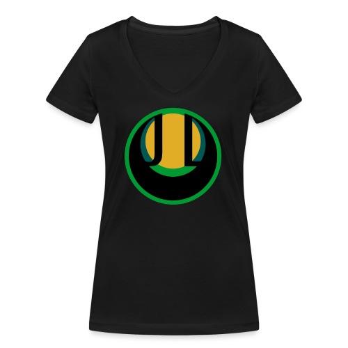 JADE LUNE - Women's Organic V-Neck T-Shirt by Stanley & Stella