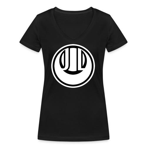 JADE LUNE MONOCHROME - Women's Organic V-Neck T-Shirt by Stanley & Stella