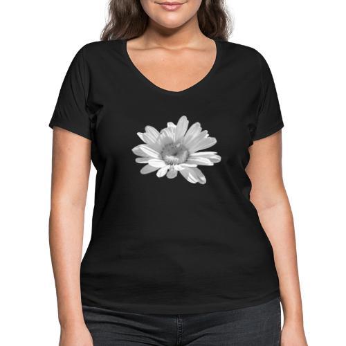 Margerite - Frauen Bio-T-Shirt mit V-Ausschnitt von Stanley & Stella