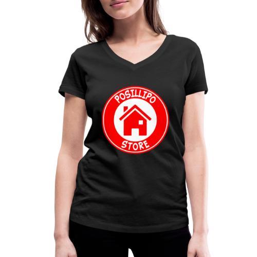 Posillipo Store - T-shirt ecologica da donna con scollo a V di Stanley & Stella