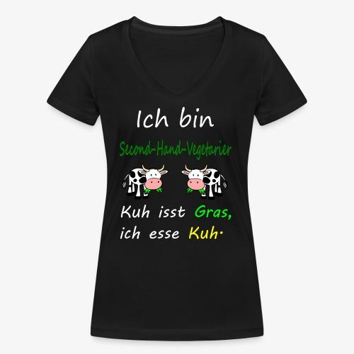 ich liebe kühe - Frauen Bio-T-Shirt mit V-Ausschnitt von Stanley & Stella