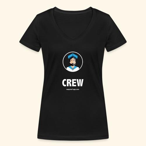 SeaProof Crew - Frauen Bio-T-Shirt mit V-Ausschnitt von Stanley & Stella
