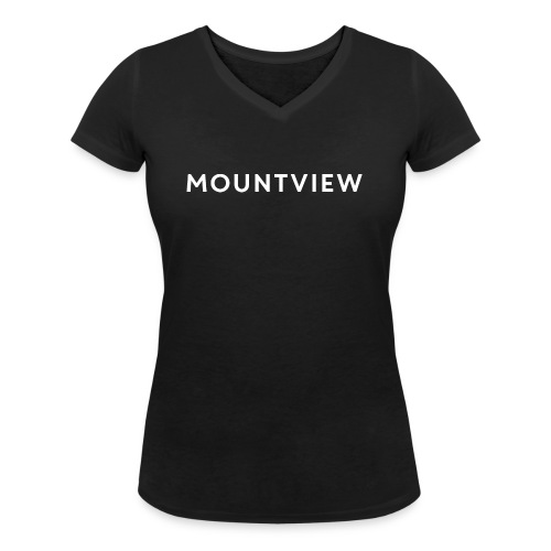 MOUNTVIEW LOGO - Women's Organic V-Neck T-Shirt by Stanley & Stella