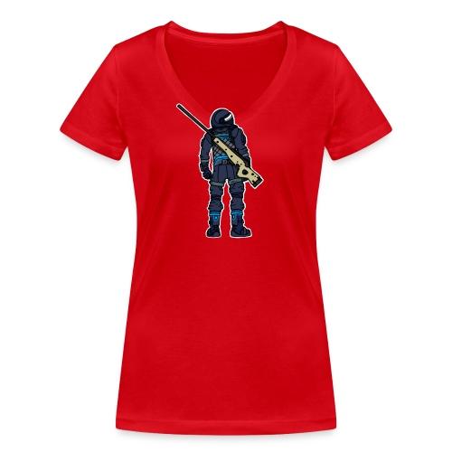 Noscoped - Women's Organic V-Neck T-Shirt by Stanley & Stella