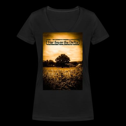 Tree - Women's Organic V-Neck T-Shirt by Stanley & Stella