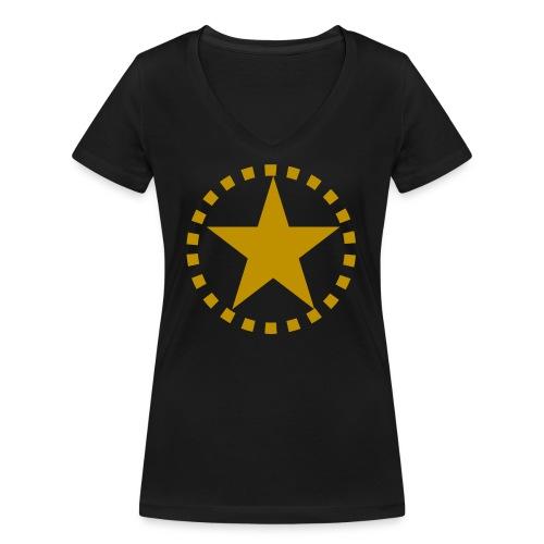 pixknapp png - Ekologisk T-shirt med V-ringning dam från Stanley & Stella
