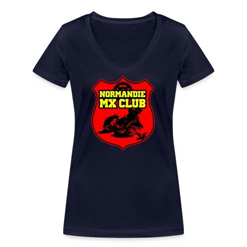 Casquette Normandie MX Club - T-shirt bio col V Stanley & Stella Femme