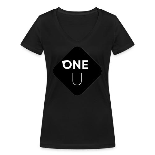 One U - Ekologisk T-shirt med V-ringning dam från Stanley & Stella