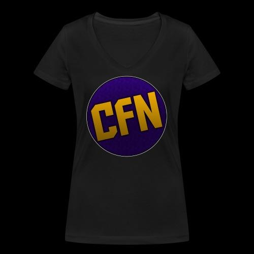 CFN - Women's Organic V-Neck T-Shirt by Stanley & Stella