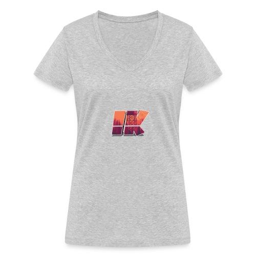 Ishaan Kulkarni Logo (1) - Women's Organic V-Neck T-Shirt by Stanley & Stella