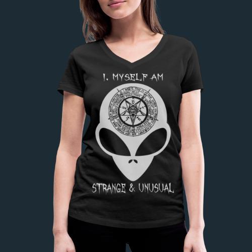 Modello 61 png - Women's Organic V-Neck T-Shirt by Stanley & Stella