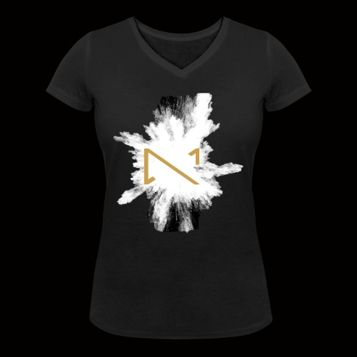 MKS T shirt 2 - Frauen Bio-T-Shirt mit V-Ausschnitt von Stanley & Stella