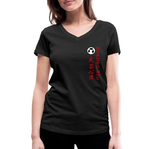 KOKORO RYU - T-shirt bio col V Stanley & Stella Femme