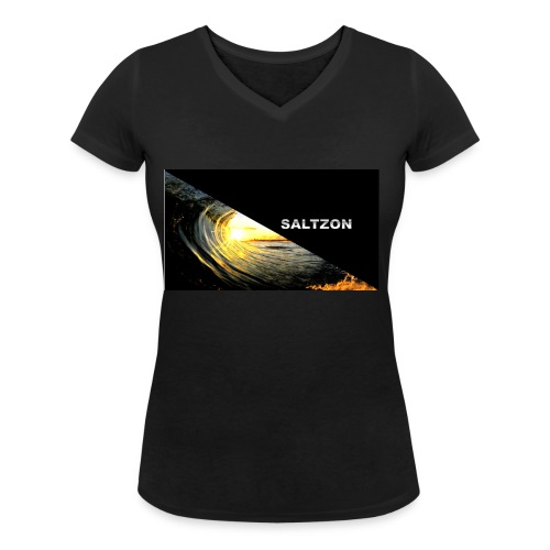 saltzon - Women's Organic V-Neck T-Shirt by Stanley & Stella