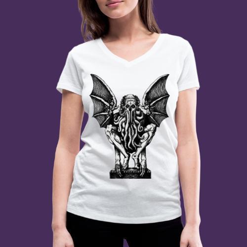 Modello 63 png - Women's Organic V-Neck T-Shirt by Stanley & Stella