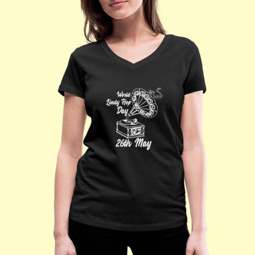 Lindy Hop Day Swing Dancing Vintage Geschenk - Frauen Bio-T-Shirt mit V-Ausschnitt von Stanley & Stella