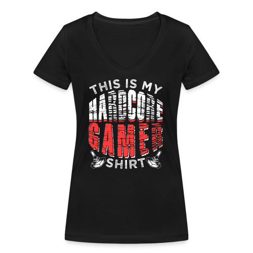 This Is My Gamer Shirt - Frauen Bio-T-Shirt mit V-Ausschnitt von Stanley & Stella