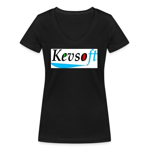 Kevsoft - Women's Organic V-Neck T-Shirt by Stanley & Stella