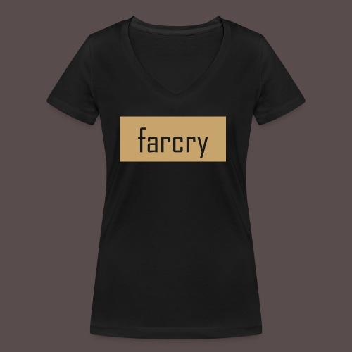 farcryclothing - Frauen Bio-T-Shirt mit V-Ausschnitt von Stanley & Stella