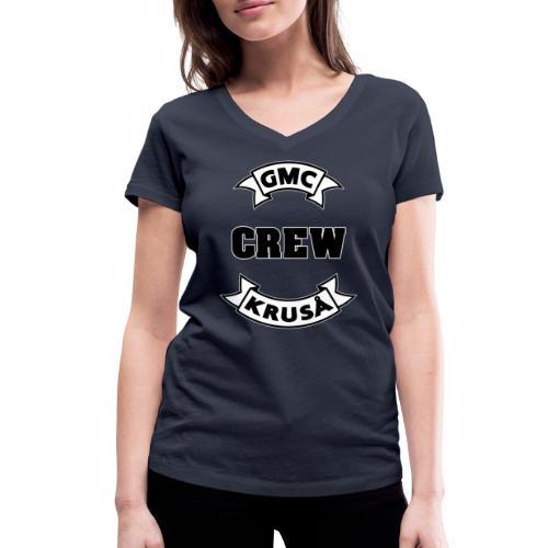 GMC CREWSHIRT - KUN FOR / CREW MEMBERS ONLY - Økologisk Stanley & Stella T-shirt med V-udskæring til damer