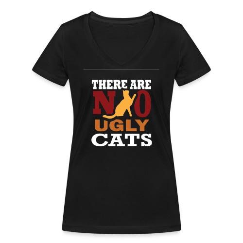 There Are No Ugly Cats - Frauen Bio-T-Shirt mit V-Ausschnitt von Stanley & Stella