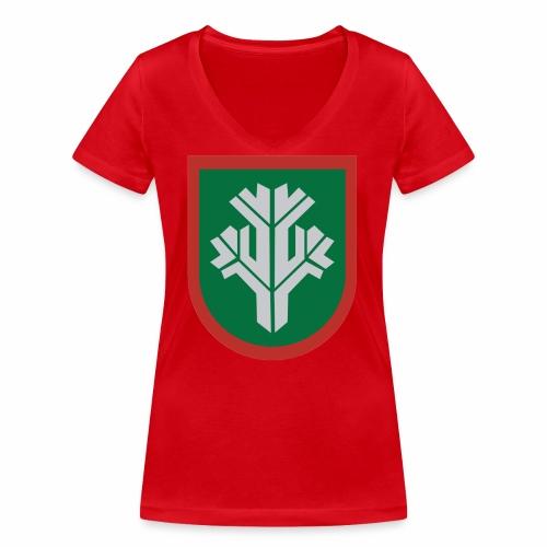 sissi - Stanley & Stellan naisten v-aukkoinen luomu-T-paita