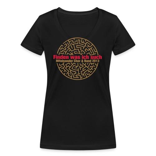 shirt - Frauen Bio-T-Shirt mit V-Ausschnitt von Stanley & Stella