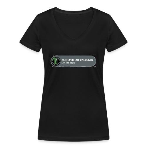 Achievement - Vrouwen bio T-shirt met V-hals van Stanley & Stella