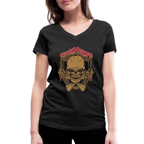 Outlaw Scumfuc - Frauen Bio-T-Shirt mit V-Ausschnitt von Stanley & Stella