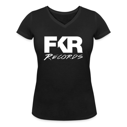 FKR transparent white Kopie png - T-shirt bio col V Stanley & Stella Femme