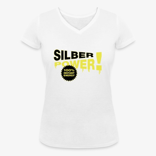SilberPower! - Økologisk Stanley & Stella T-shirt med V-udskæring til damer