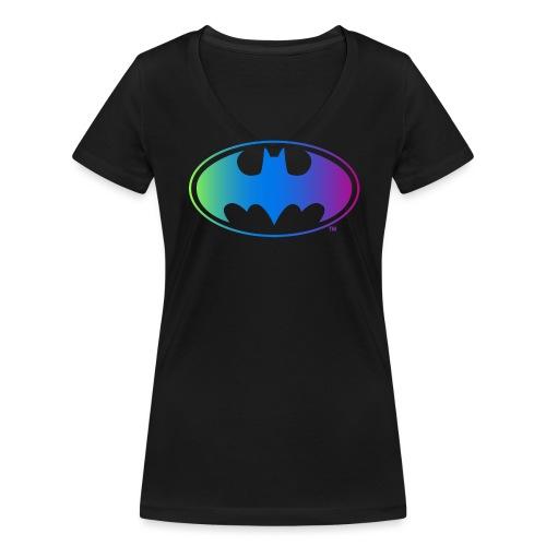 Logo Rainbow - Frauen Bio-T-Shirt mit V-Ausschnitt von Stanley & Stella