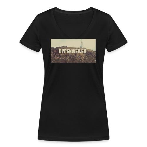 OPPES goes HOLLYWOOD - Frauen Bio-T-Shirt mit V-Ausschnitt von Stanley & Stella