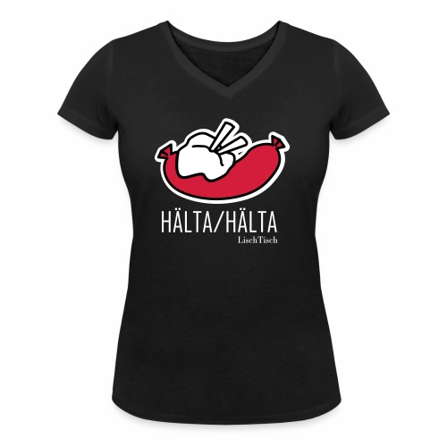 Hälta Hälta - Ekologisk T-shirt med V-ringning dam från Stanley & Stella