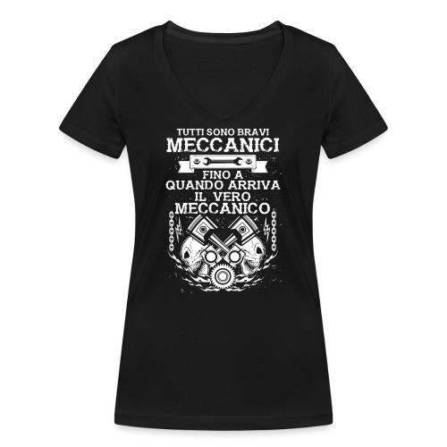 Tutti sono bravi meccanici, fino a quando arriva - T-shirt ecologica da donna con scollo a V di Stanley & Stella
