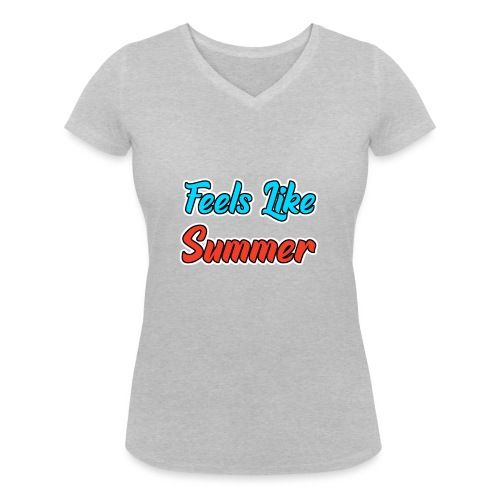 Feels Like Summer - Frauen Bio-T-Shirt mit V-Ausschnitt von Stanley & Stella