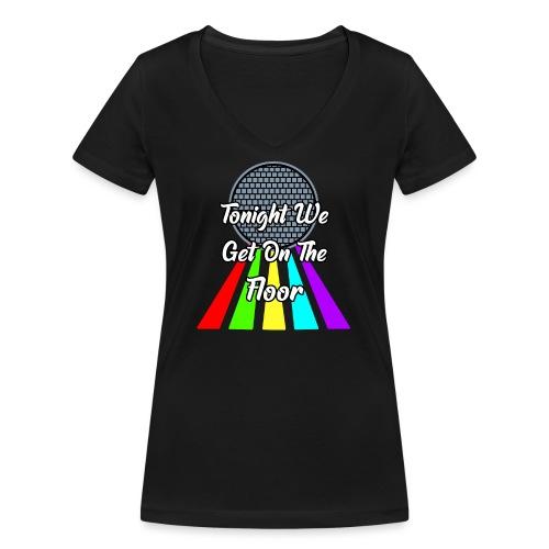 Dance Party - Frauen Bio-T-Shirt mit V-Ausschnitt von Stanley & Stella