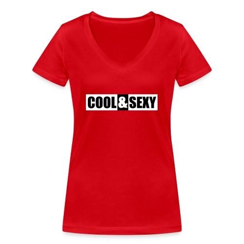 Cool & Sexy - Frauen Bio-T-Shirt mit V-Ausschnitt von Stanley & Stella