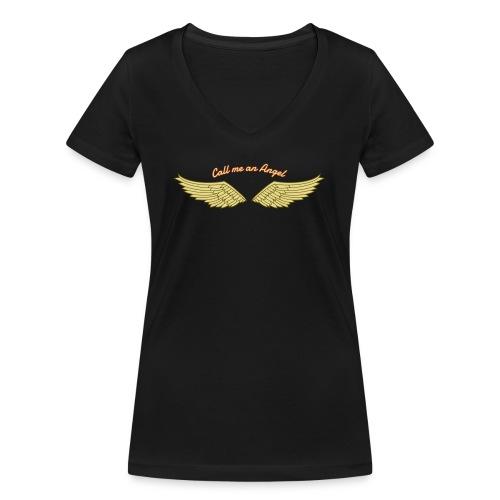 Angel - Frauen Bio-T-Shirt mit V-Ausschnitt von Stanley & Stella